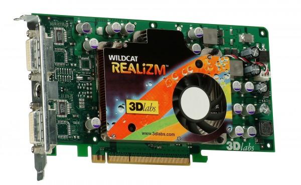 3Dlabs Wildcat Realizm 500 256MB PCI-Express