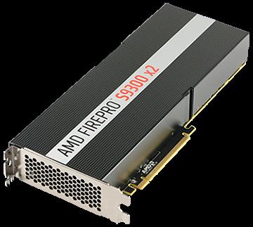 AMD FirePro S9300 x2 8GB PCIe 3.0 Reverse Airflow