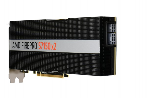 AMD FirePro S7150 x2 16GB PCIe 3.0 Reverse Airflow