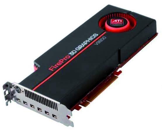 ATI FirePro V9800 4GB PCIe 2.0