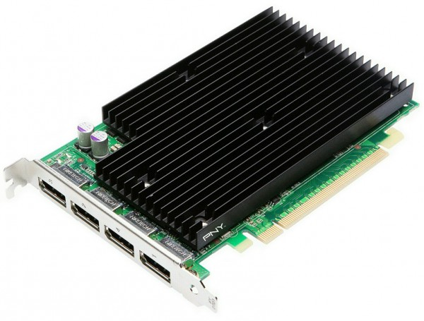 PNY nVIDIA Quadro NVS 450 512MB PCIe 2.0