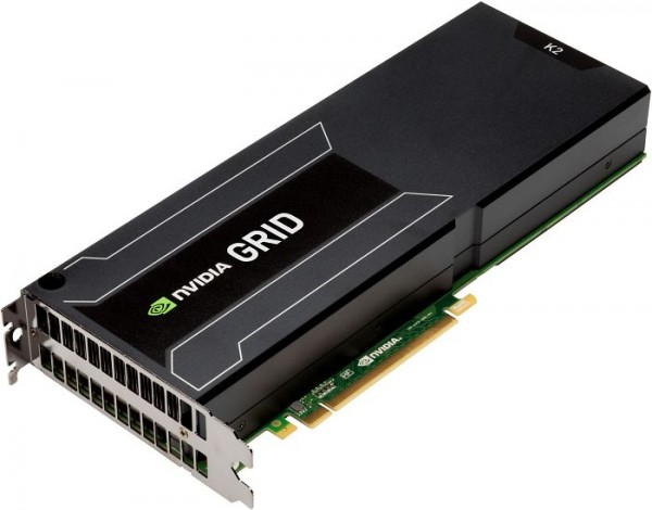 nVIDIA GRID K2 8GB PCIe 3.0 Left-to-Right Airflow