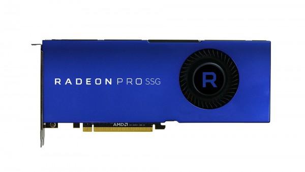 AMD RadeonPro SSG 2TB und 16GB HBM2 PCIe 3.0