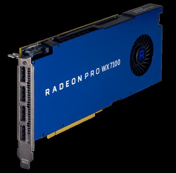 AMD RadeonPro WX 7100 8GB PCIe 3.0