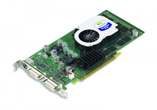 PNY nVIDIA QuadroFX 1300 128MB PCIe 2.0