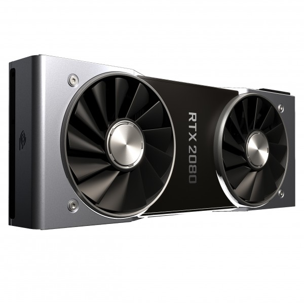 nVIDIA GeForce RTX 2080 PCIe 3.0 Founders Edition