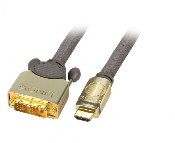 Lindy DVI-D auf HDMI Adapter 0.5m