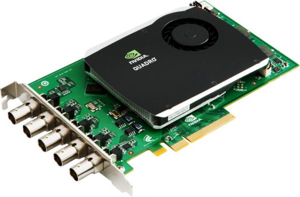 PNY nVIDIA Quadro SDI-Input Option Card PCIe x8