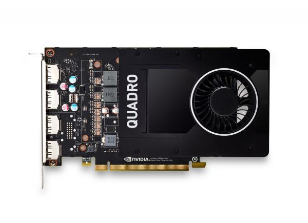 HP nVIDIA Quadro P2000 5GB PCIe 3.0