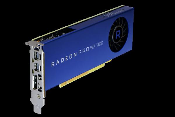 AMD RadeonPro WX 3100 4GB PCIe 3.0