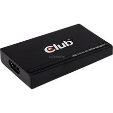 Grafikkarte Club 3D USB 3.0 Externer Grafikadapter HDMI 4K