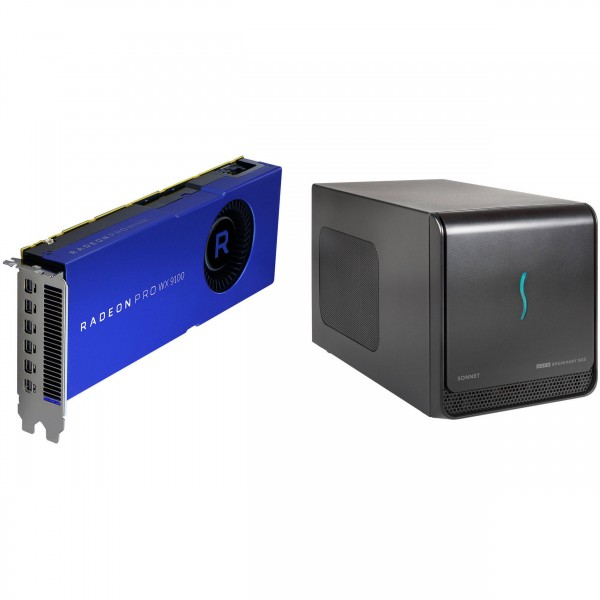 eGFX Breakaway Box mit AMD RadeonPro WX 9100