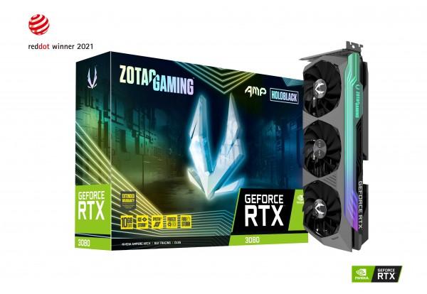ZOTAC GAMING GeForce RTX 3080 Trinity AMP Holo 10GB PCIe 4.0