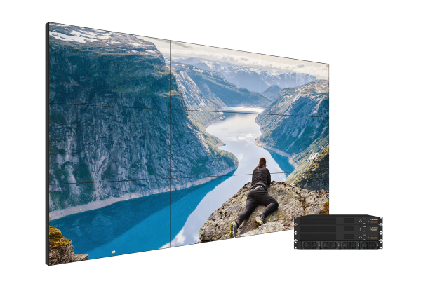 PLANAR Clarity Matrix G3 3x3 Video Wall