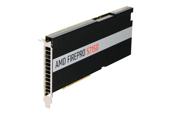 AMD FirePro S7150 8GB PCIe 3.0 Passive Cooling