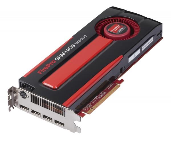 AMD FirePro W8000 4GB PCIe 3.0