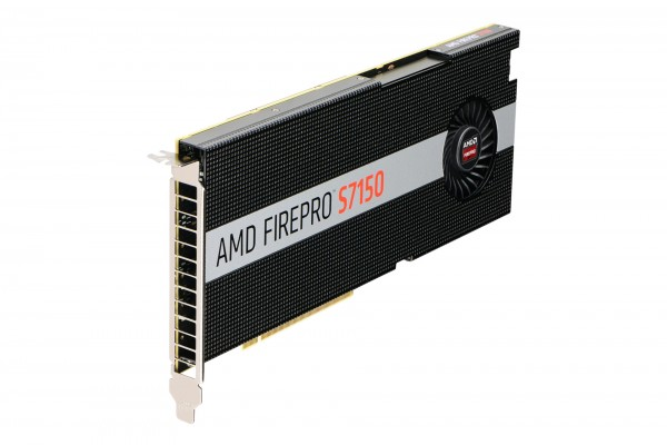 AMD FirePro S7150 8GB PCIe 3.0 Active Cooling