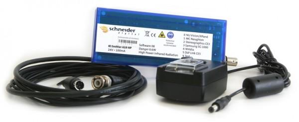 Long Range Multi Protokoll IR-Emitter für Shutterbrillen