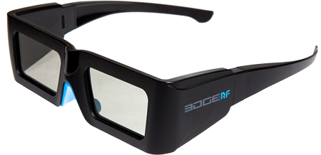 3D FUNK / IR Stereo Shutterbrille EDGE VR