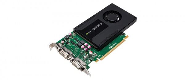 Grafikkarte PNY Quadro K2000D 2GB PCI-Express 2.0