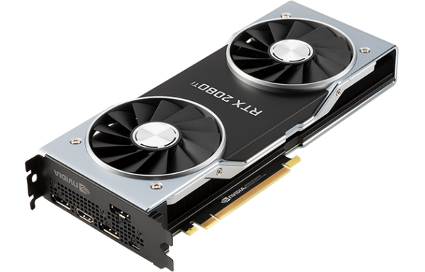 nVIDIA GeForce RTX 2080 Ti PCIe 3.0 Founders Edition