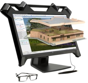 zSpace HP ZVR Display mit Tracking